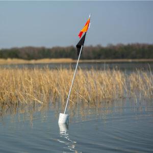 märklipp väinameri kahe lipuga